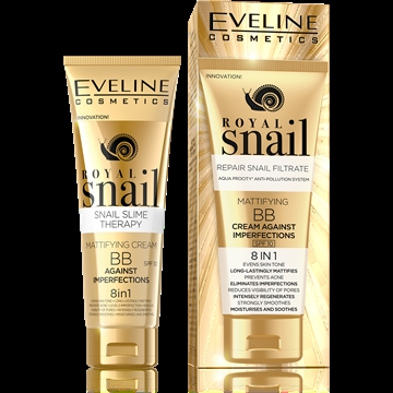 Eveline Royal Snail Mattifying Bb Cream Against Imperfections 8In1 50ml
