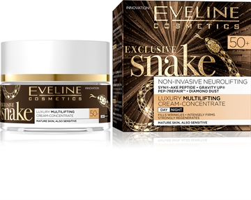 Eveline Exclusive Lifting Snake Day And Night Cream 50+ 50ml