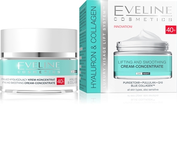 Eveline Hyaluron&Collagen Day And Night Cream 40+ 50ml