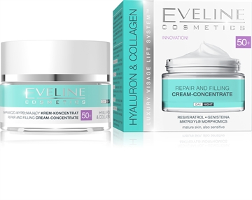 Eveline Hyaluron&Collagen Day And Night Cream 50+ 50ml