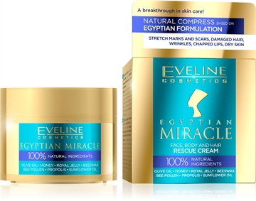 Eveline Egyptian Miracle Face, Body And Hair Rescue Cream 40ml