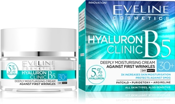 Eveline Hyaluron Clinic Day And Night Cream 30+ 50ml