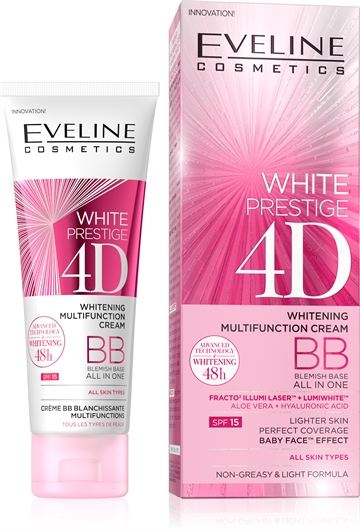 Eveline White Prestige 4D Whitening Multifunction Bb Cream 50 ml