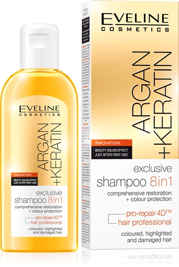 Eveline Exclusive Shampoo 8In1 150 ml