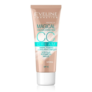 Eveline CC Cream Magical Colour Correction Natural 30ml