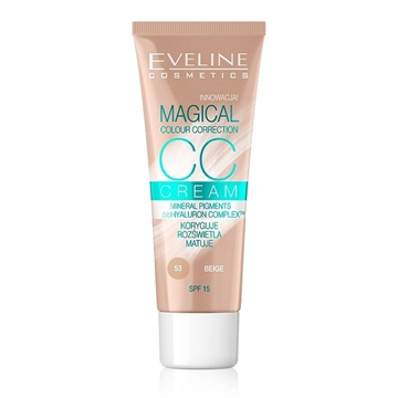 Eveline CC Cream Magical Colour Correction Beige 30ml
