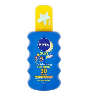 Nivea Kids Moist. Spray 30