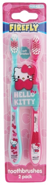 Hello Kitty Tandborste Double Pack