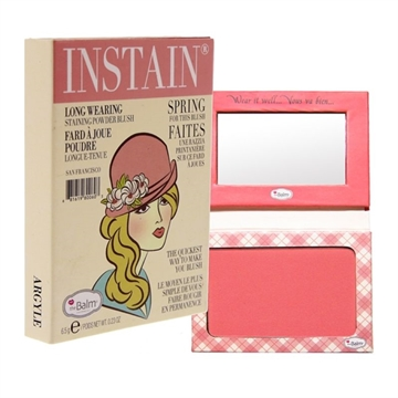 The Balm Instain Longwearing Staining Powder Blush 6,5Gr Instain Argyle