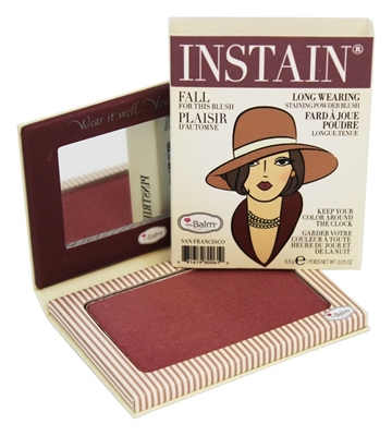 The Balm Instain Longwearing Staining Powder Blush 6,5Gr Instain Pinstripe