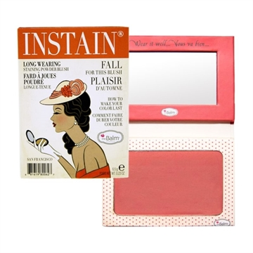 The Balm Instain Longwearing Staining Powder Blush 6,5Gr Instain Swiss Dot