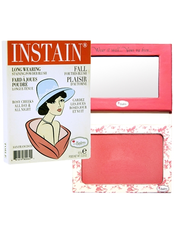 The Balm Instain Longwearing Staining Powder Blush 6,5Gr Instain Toile