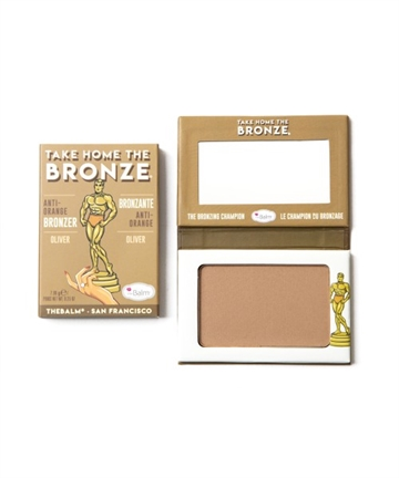 The Balm Take Home The Bronze Bronzer 7,08Gr Oliver (Light)