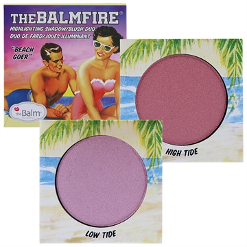The Balm Balm Fire Shadow/Blush Duo 10Gr Balm Fire Beach Goer