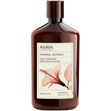 Ahava Mineral Botanic Cream Wash Lotus 500ml Hibiscus & Fig