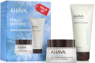 Ahava Perfect Partners Active Hydration Value Set 150ml Gel Cream 50ml/Hydration Cream Mask 100ml