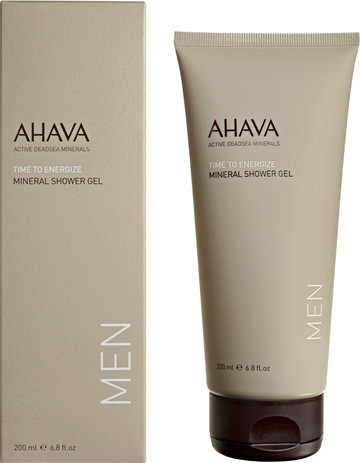 Ahava Time To En. Men Mineral Shower Gel 200ml
