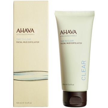 Ahava Time To Clear Facial Mud Exfoliator 100ml