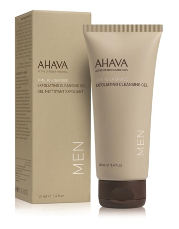 Ahava Men's Exfoliating Mineral Facial Cleansing Gell 100ml