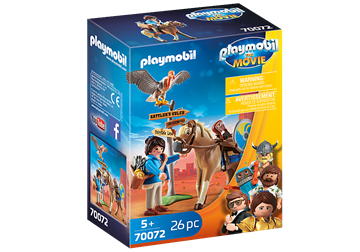 PLAYMOBIL:THE MOVIE Marla with Horse 70072