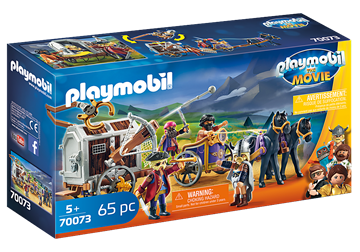 PLAYMOBIL:THE MOVIE Charlie with Prison Wagon 70073