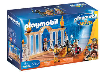 PLAYMOBIL:THE MOVIE Emperor Maximus in the Colosseum 70076