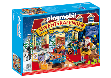 Playmobil Christmas Advent Calendar - Christmas Toy Store  70188