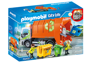 Playmobil City Life Recycling Truck 70200