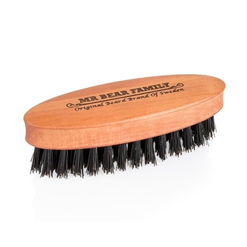 Mr. Bear Family Beard Brush Travel
