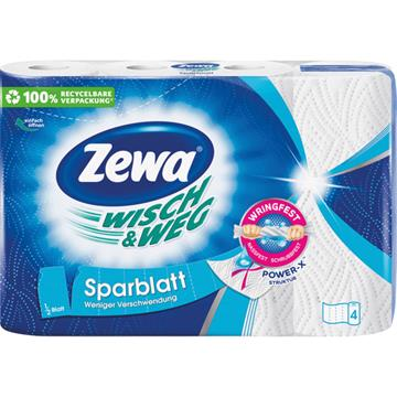 Zewa Kitchen Towels Wisch&Weg Economy Sheet 4X74