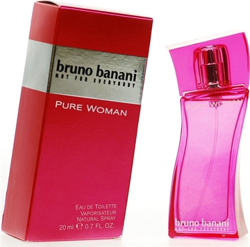 Bruno Banani Pure Woman Edt Spray 20ml