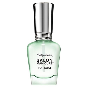 Sally Hansen Salon Manicure Ultra-Wear Top Coat 14.7ml Clear Chip-Resistant