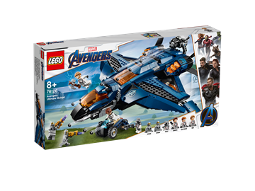 LEGO Super Heroes Avengers' ultimative quinjet 76126