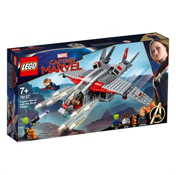 LEGO Super Heroes 76127 Captain Marvel och Skrullattacken