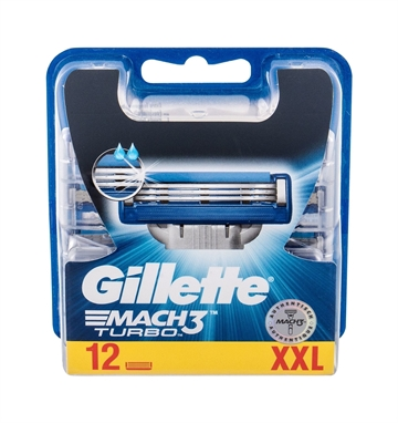 Gillette Mach 3 Turbo 12 blades