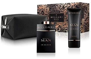 Bvlgari Man In Black Giftset 200ml EDP Spray 100ml/After Shave Balm 100ml/Pouch
