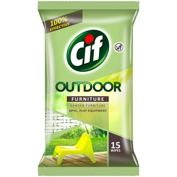 Cif Outdoor Furniture Wipes 15S