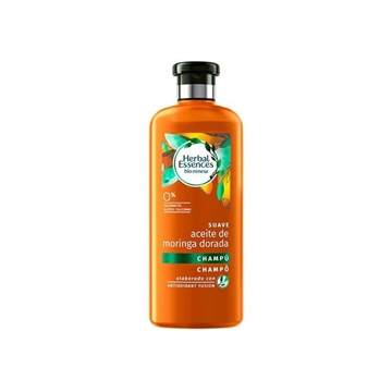 Herbal Essences Sahmpoo Suave Aceite de Moringa Dorada Detox 0% 400 ml