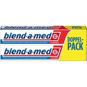 Blend A Med Toothpaste Classic 2X75ml