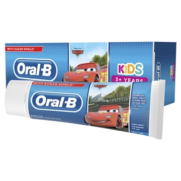 Oral B Tandkräm Bilar / Frysta 3 + Yrs 75ml