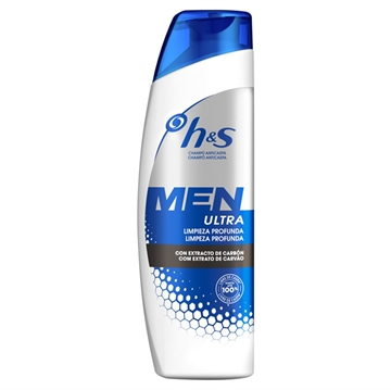 Head & Shoulders anti-dandruff shampoo 300 ml Men instant relief with ginseng