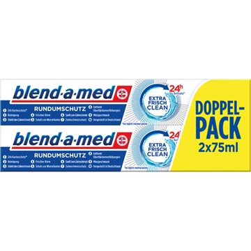 Blend A Med Toothpaste 2X75ml Extra Fresh