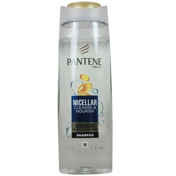 PANTENE Micellar Cleanse & Nourish Shampoo 360ML, For Prone To Greasy Hair