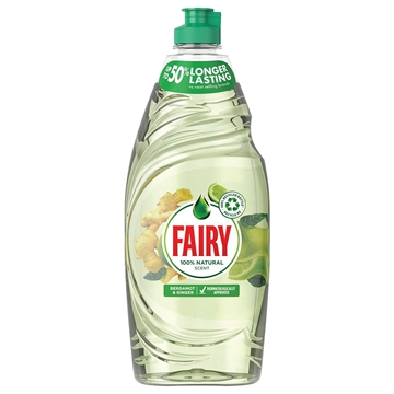 Fairy Liquid Naturals Bergamot & Ginger 625ml