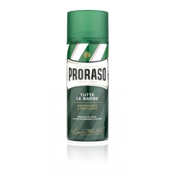 PRORASO GREEN SHAVING FOAM 400ML