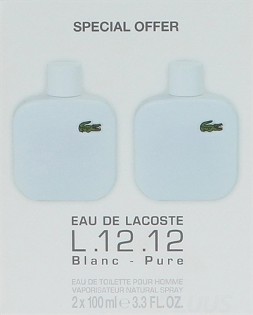 Lacoste Travel Edition L.12.12 Blanc Noir Giftset 200ml