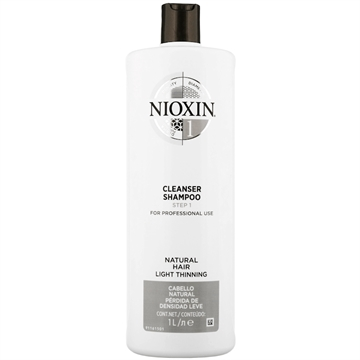 Nioxin THINNING System 1 CLEANSER SHAMPOO 1L