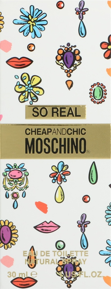 Moschino So Real Cheap & Chic Edt Spray 30ml
