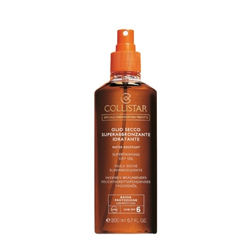 Collistar Supertanning Moisturizing Dry Oil SPF6 200ml Speciale Abbronzatura Perfetta - Low Protection