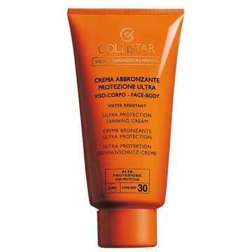Collistar Ultra Protection Tanning Cream Spf 30 150ml